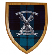 51st Highland Volunteers - Wall Plaque